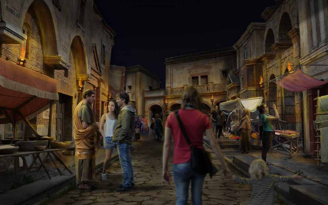 NEW ROMAN ATTRACTION PLANS ANNOUNCED